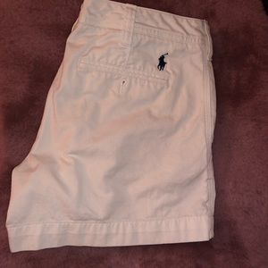 White Polo Ralph Lauren shorts